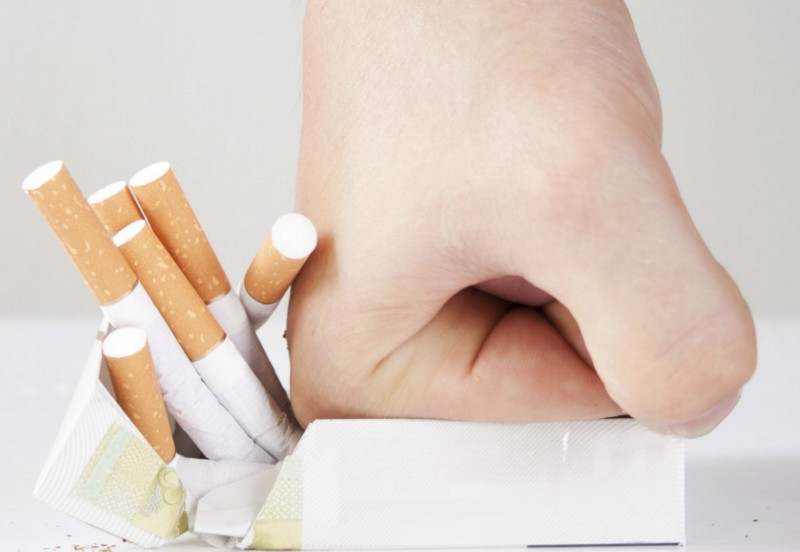 Бросить курить в первый месяц беременности